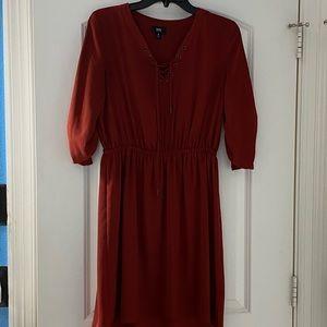 Mossimo burgundy dress size small